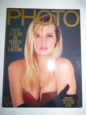 PHOTO FRENCH MAGAZINE #243 decembre 1987 Estelle top N°1 a vingt ans