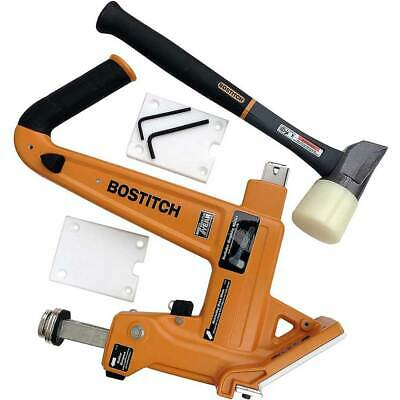 Bostitch MFN201 2 In Manual Hardwood Flooring Cleat Nailer Kit with Comfort Grip