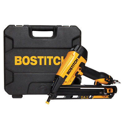 Bostitch DA1564K 15 Gauge Ultra Quiet Rear Exhaust Angled Finish Nailer Kit
