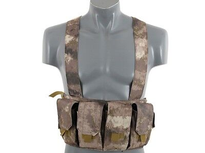 Airsoft Vest Army Tactical Vest Atak Chest Rig plate carrier webbing