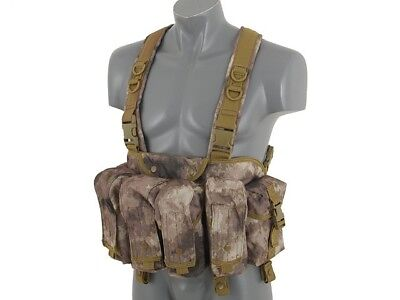Airsoft Vest Advanced Army Tactical Vest ATAK Chest Rig plate carrier webbing
