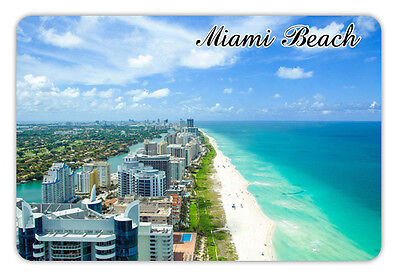 "Florida miami beach Travel Souvenir Photo Fridge Magnet 3.5""X2.4"""
