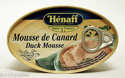 Henaff Duck Mousse with Port Wine, Hénaff Mousse de Canard 115g