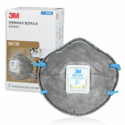 10Pcs 3M Mask 9913V custom gas mask Disposable Respirator with Valve original