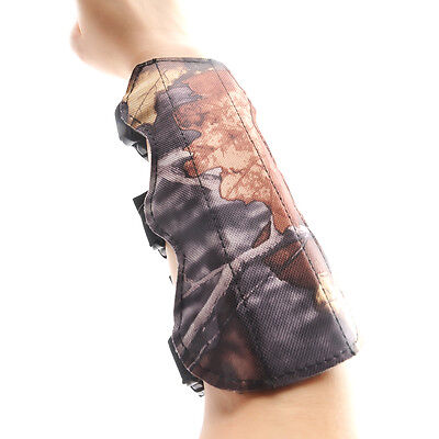 Archery Bow Arm Guard Protection Forearm Safe 3-Strap Camo Sport Accessory