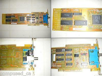 DCA dual ISA/MCA - COAX - Micro Channel - network card - IBM - Vintage Hardware