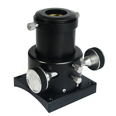"2"" Crayford Reflectors Focuser for Reflection Telescope with1.25"" Adapter Black"