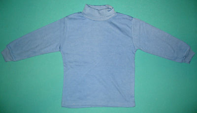 NEW unisex Skivvy perfect for school BLUE size 5 to 12