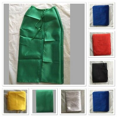 Adult Kids Plain Colour Cape Sports Day Superhero Fancy Dress Party Cape