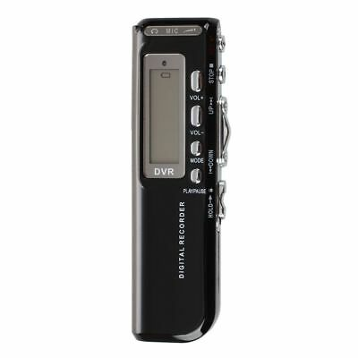 8GB 650Hr USB Digital Audio Activated Voice Recorder Dictaphone MP3 Player SK