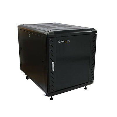 StarTech.com 12U 36in Knock-Down Server Cabinet With Casters Rack Accessorie - B