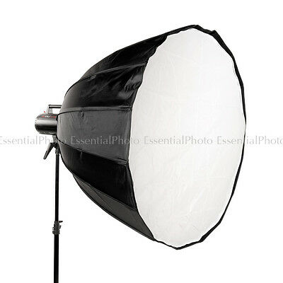 "120cm 47"" Hexa Deep Para Parabolic Easy Open Studio Softbox Bowen S Fit Zeppelin"