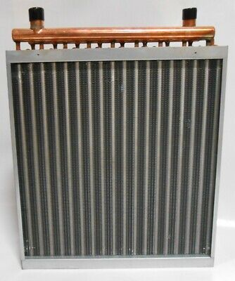 12x24 Water to Air Heat Exchanger Hot Water Coil Outdoor Wood Furnace