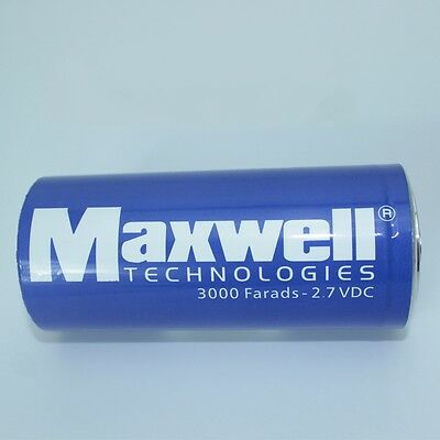 New USA Maxwell 2.7V3000F super capacitor K2 2.7V 3000F+Connecting piece G721 XH