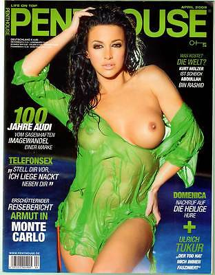 PENTHOUSE 2009/04 [April 4/09]  * Sophia Cahill * TOP