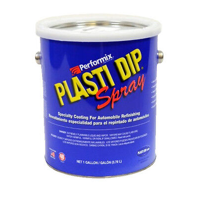 Plasti Dip GALLONE SPRAYABLE Plastidip NERO OPACO AMERICANO wrapping lt. 3.780