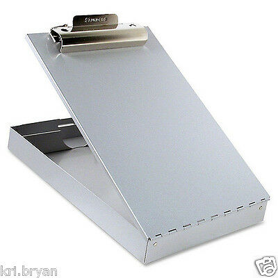 New Metal Storage Clipboard Compartment Document Paper Box Container Free 2 Day