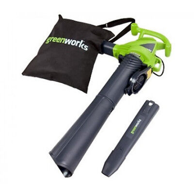 Greenworks 12A 230MPH 2-Speed Blower/Vacuum - 24022