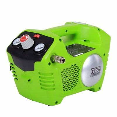 Greenworks G-24 115psi 24V Cordless Air Compressor Tool Only - 4100002
