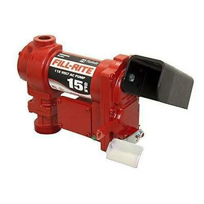 Fill-Rite FR604G 15 GPM 115-Volt 60-Hz Explosion Proof AC Transfer Pump