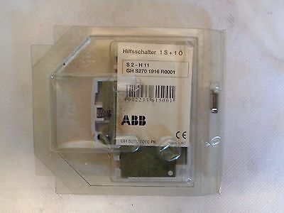 New Abb S2-H11 Gh-S270-1916-R0001 Auxiliary Contact
