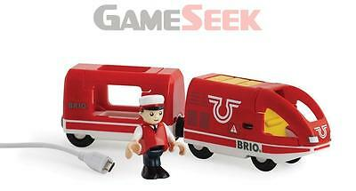 Brio Travel Rechargeable Train 33746 - Toys Brand New Free Delivery