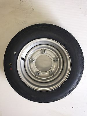 "155-70-R12C / 5 Stud 6.5""pcd Trailer Wheel&tyre For Ifor Williams Trailers"