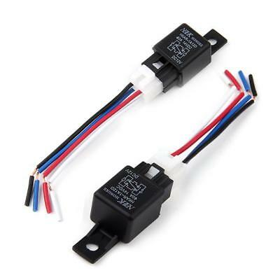Automotive DC 12V 12 Volt 40A Amp SPDT Wiring Power Relay Car Truck Switch New