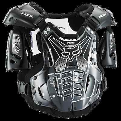 FOX RACING Large Airframe ATV ADULT OFFROAD MX CHEST PROTECTOR L Black