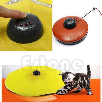 Tissu Undercover Moving Souris Cat Toy Cats Meow Play For Cat Kitty drôle