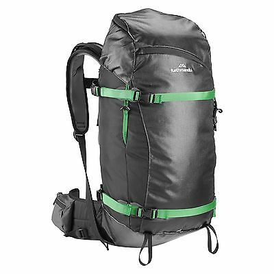 Kathmandu Nevero Water Resistant Snow Sport Hiking Camping Backpack 28L Black