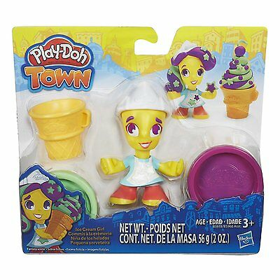 New Hasbro Play-Doh Playdoh Town Ice Cream Icecream Girl Figure B5978