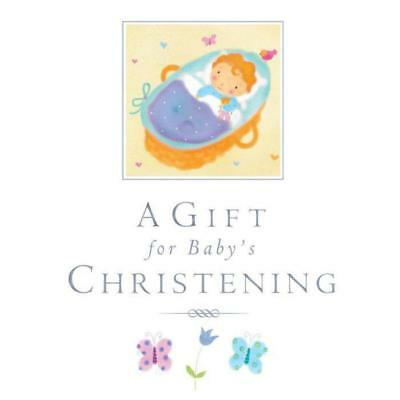A Gift For Baby's Christening Book – Baby Boy Girl Present Prayers Bible God