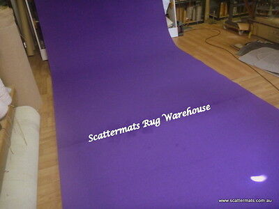Purple Expo Event Carpet Mid Range Runner in 1m x 5m Increment Lengths