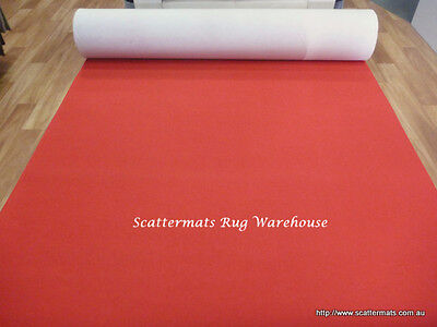 Red Expo Event Carpet Budget Runner in 2m x 5m Increment Lengths