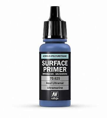Vallejo Polyurethane Surface Primer -17ML ULTRAMARINE  VAL70625