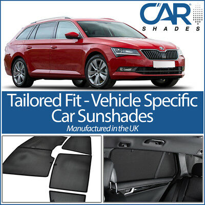 Skoda Superb Estate 2015> CAR WINDOW SUN SHADE BABY SEAT CHILD BOOSTER BLIND UV