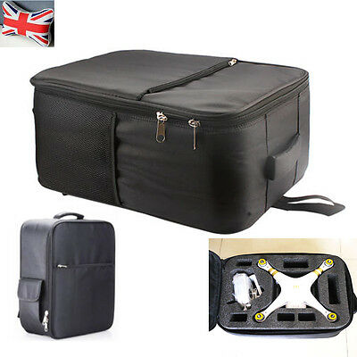 Shoulder Bag Carrying Case Shockproof Backpack for Drone DJI Phantom 3 Black