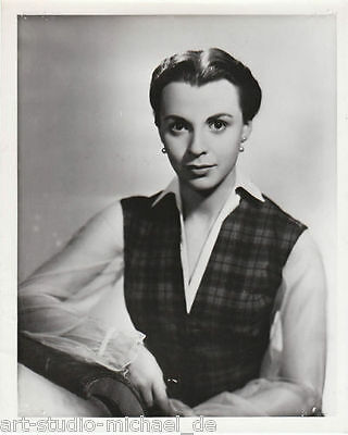 ORIGINAL - Vintage - Pressefoto - Claire Bloom - Lime Light - 1952