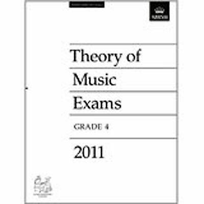 Theory Of Music Exams Grade 4 Past Practice Papers 2011 ABRSM Prep S85