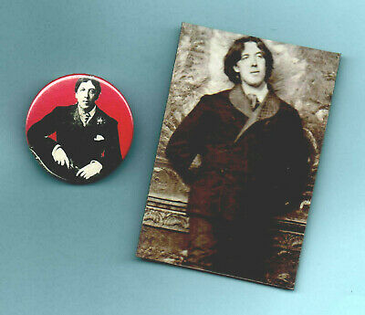 Oscar Wilde  Badge.