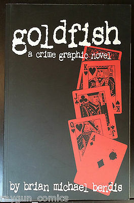 Goldfish A Crime Graphic Novel Softcover Image Comics Brian Michael Bendis