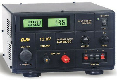 QJE QJ1830SB 30AMP Linear Power Supply Unit