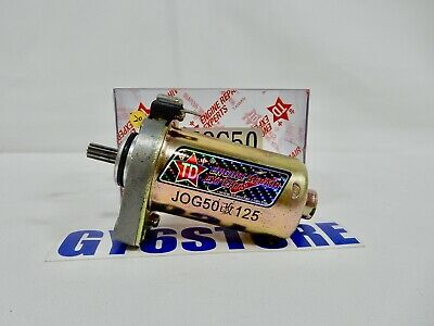 Starter Motor for 50cc 2-stroke Jog Minarelli 1PE40QMB engines. 10-Splines