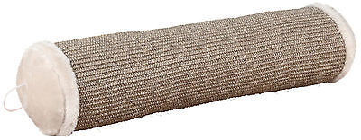 "Plush Playing Roll Cat Scratcher with Fleece Filling Light Grey 58cm (23"")"