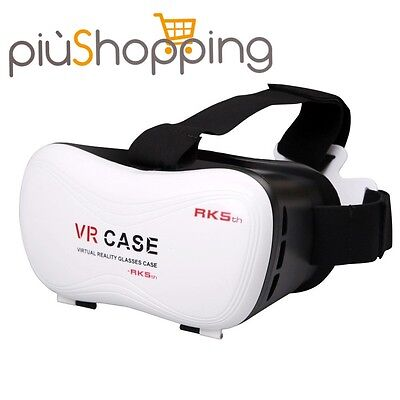 VR Box Case Occhiali Realtà Virtuale 3D Virtual Reality + Gamepad Bluetooth