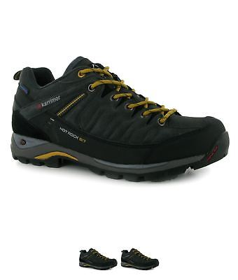OCCASIONE Karrimor Hot Rock Low Uomo Walking Calzature Charcoal/Yellow