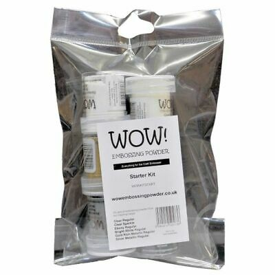 WOW! Embossing Powder Starter Kit 6 x 15 ml - Embossing Pulver