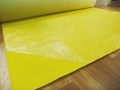 Yellow Expo Event Carpet Budget Runner in 1m x 5m Increment Lengths
