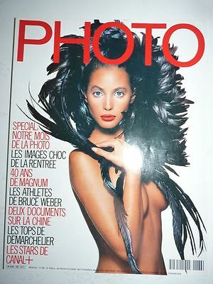 PHOTO FRENCH MAGAZINE #266 novembre 1989 les stars de Canal+